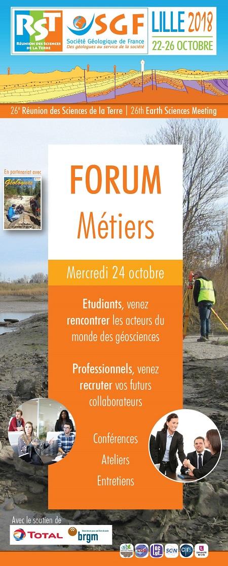 Forum métiers
